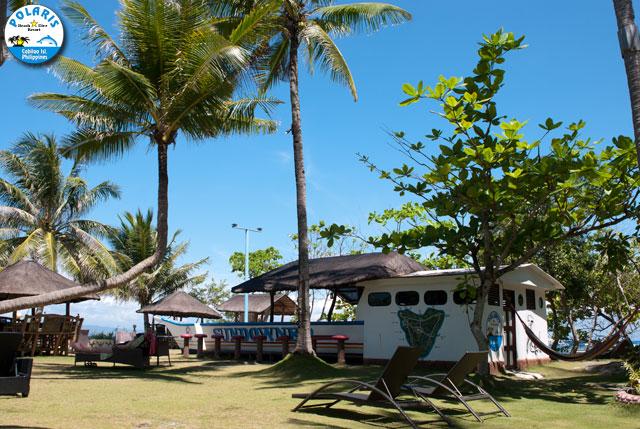 Polaris sundowner bar cabilao island bohol - Sanom beach dive resort ...